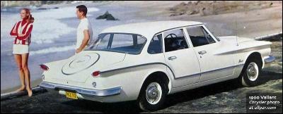 the 1960 Valiant : tail fins on a budget (www.allpar.com)