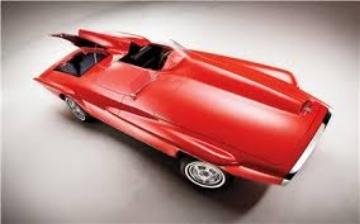 1 960 Plymouth XNR concept  (www.CarStyling.RU)