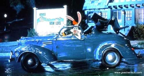 Roger Rabbit drove a '39 in  Who Framed Roger Rabbit  (www.joesherlock.com)
