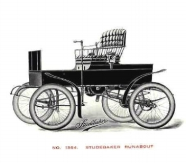 1902 Studebaker Electric Runnabout (www.americanautomobiles.com)