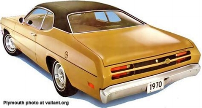 plymouth duster: one cute ass (www.Valiant.org)