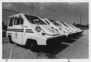 Commuter Vehicles, Inc. electric postal vans 1981 ( www.CLassic-Car-History.com )