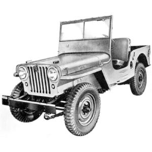 Willys Jeep CJ2A ( www.KaiserWillys.com )