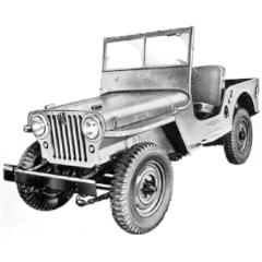 Willys Jeep CJ2A (www.KaiserWillys.com)