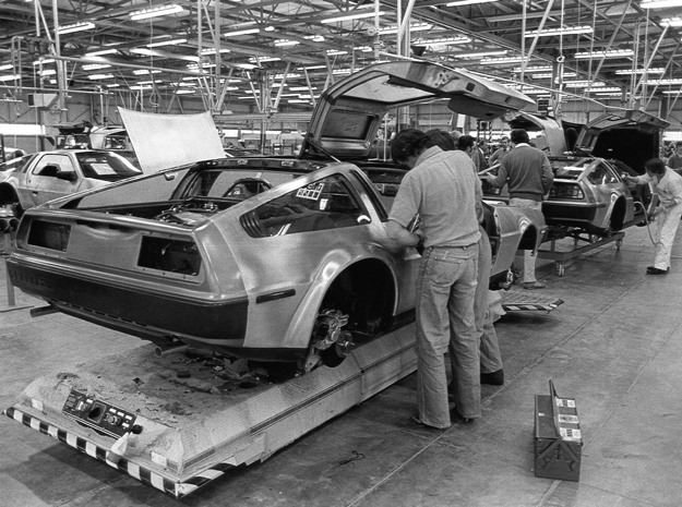 Quick, name one other car built in Northern Ireland. Yes, an inexperienced workforce was one of Delorean's many problems
