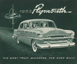 the 1053 Plymouth: advanced Engineering. Styling; not so much