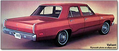 Plymouth Valiant's boring backside