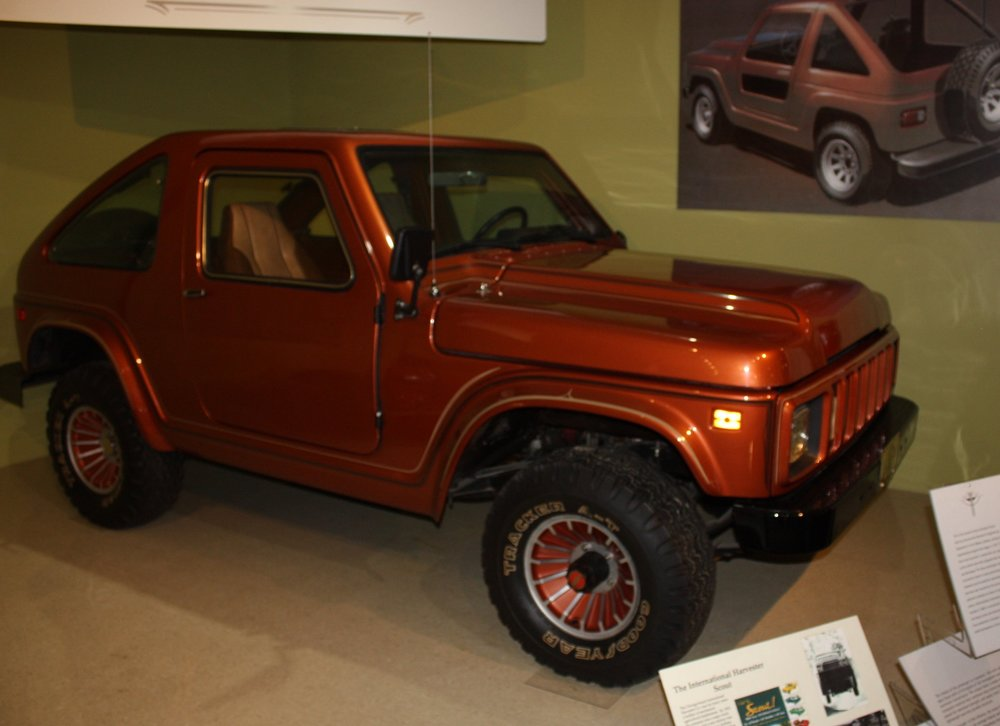 International Scout SSV Prototype (from cars of Indiana exibit A-C-D museum 2017)