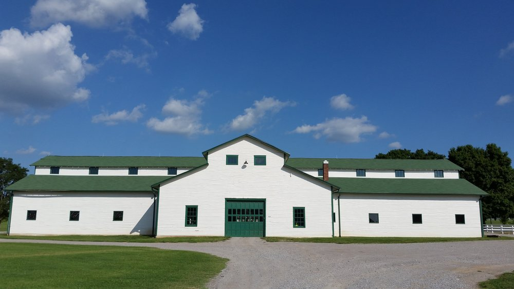 The historic Main Barn at The Park at Harlinsdale Farm.