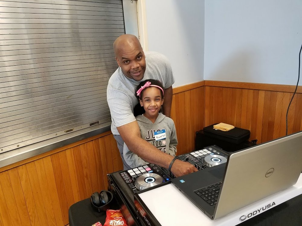 Job Fair DJ Sterling Bishop & Kamryn Bishop