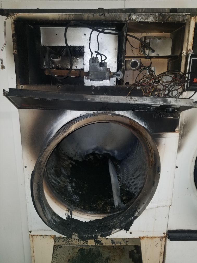 Take Advantage of our PM Service to avoid a Dryer Fire.
