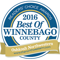 #1 Electrical Contractor - Witzke Electric is proud to have again been named the #1 electrical contractor in Winnebago County in the 2016 Oshkosh Northwestern Readers' Choice Awards.