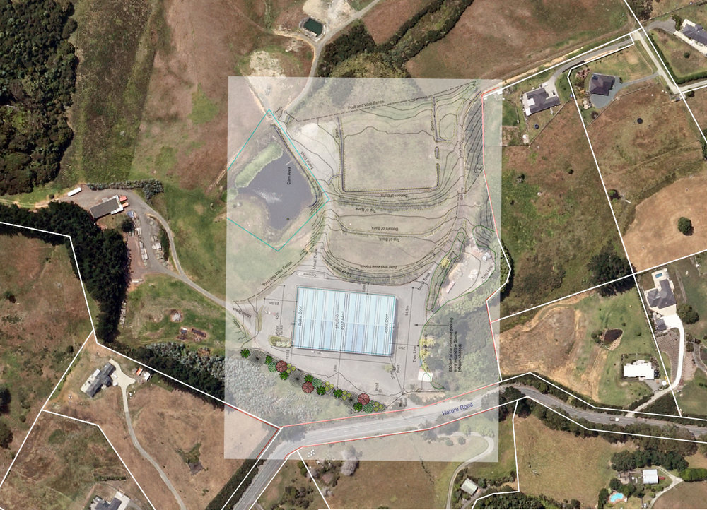 Kelly Park Studio Map overlay aerial image Jan 2019