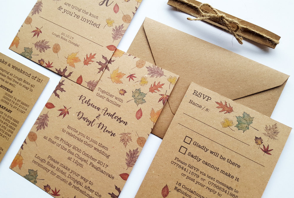 Wedding Stationery and Invitation Design Northern Ireland — HOME