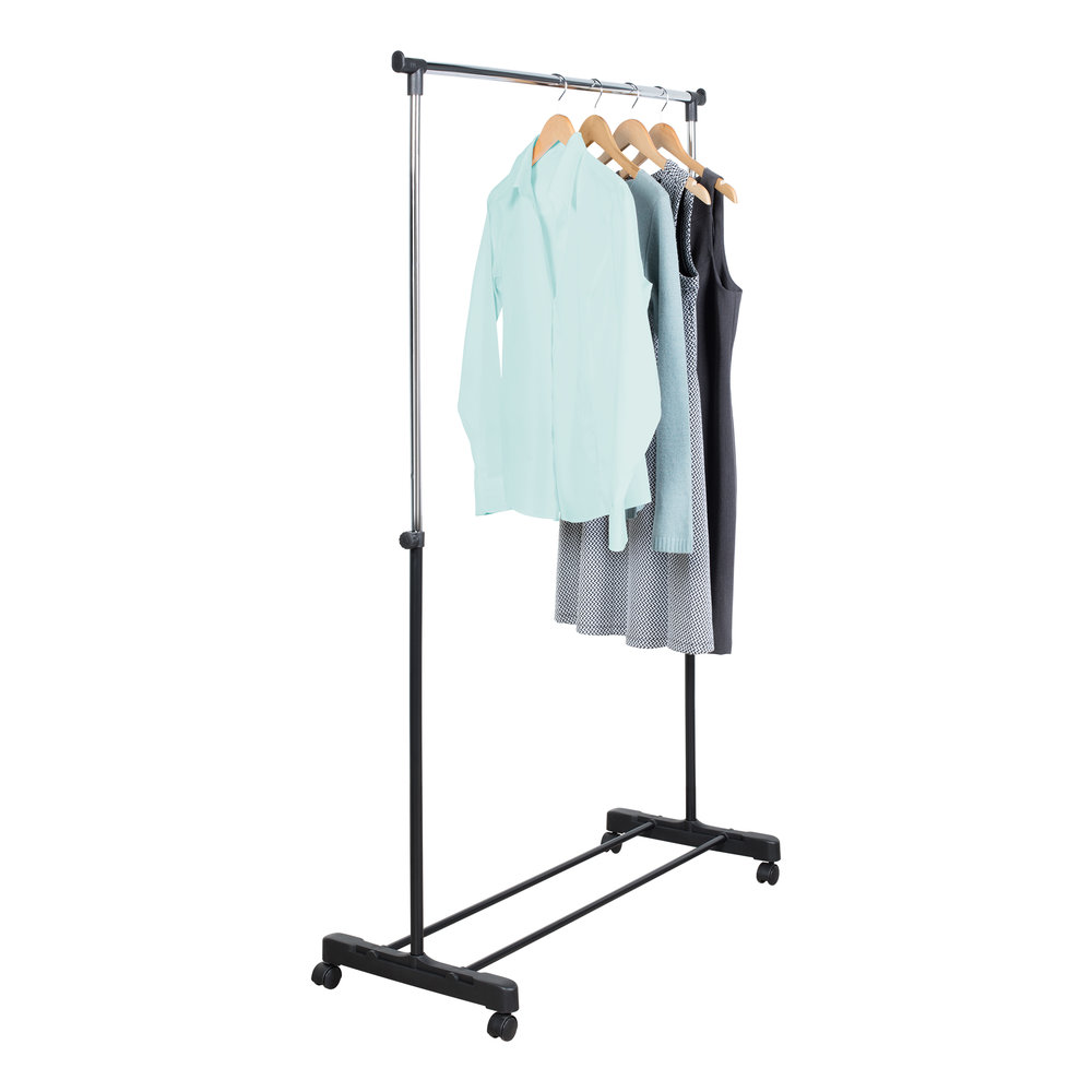 Adjustable Garment Rack With Wheels Assembly Instructions