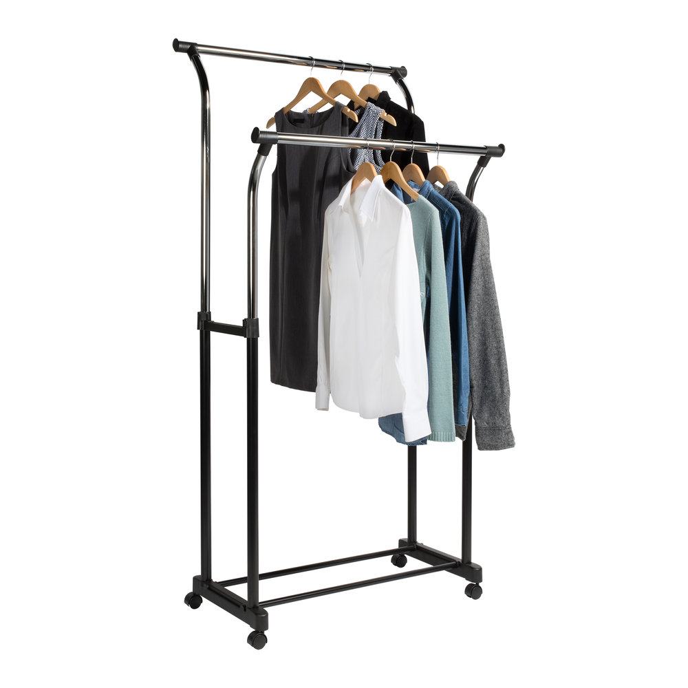 Flared Double Garment Rack Assembly Insructions
