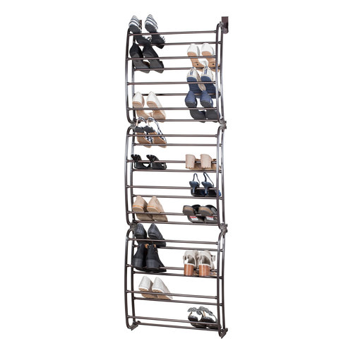 36 pair over the door shoe rack assembly instructions - Over The Door Shoe Rack