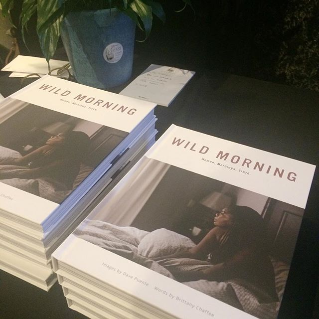 OSP was happy to support @thewildmorning's launch party last night. A great book project that benefited a worth cause, with proceeds going to @faithslodge.