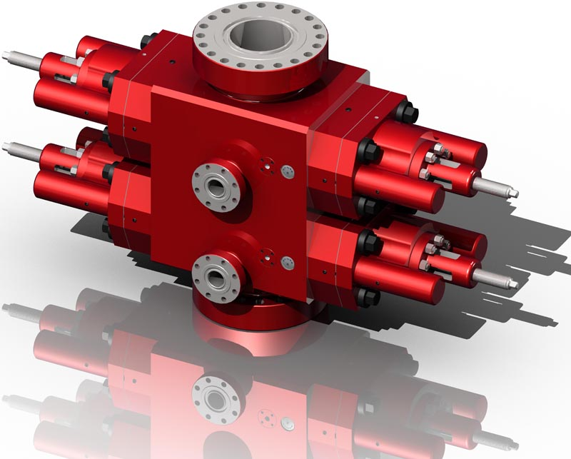 RAM TYPE BLOWOUT PREVENTER