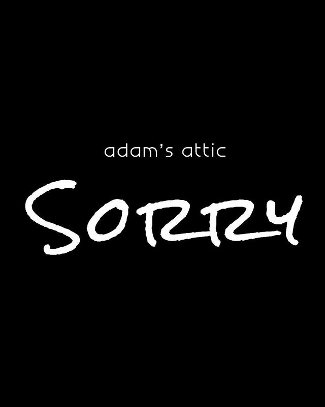 #AdamsAtticSorry #SorryMusicVideo #NewMusicComingSoon  w/ @jojomhenry @derekihenry @scottboazman @angelicalhenry