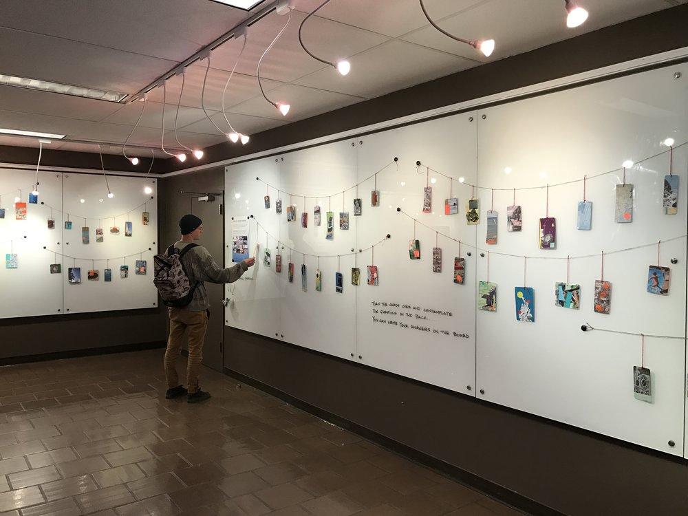 Cal Poly Installation, San Luis Obispo, CA, 2017