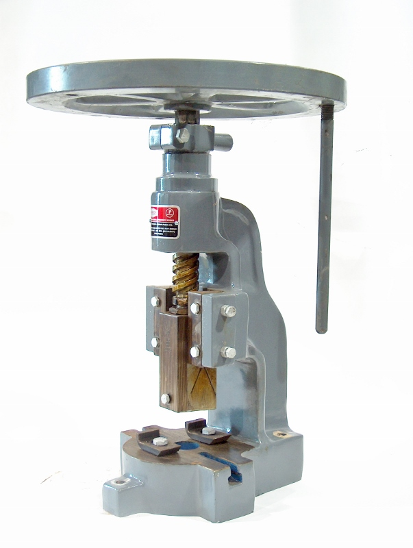 Our Fly Presses are the low tech answer to power hammers. Affordable prices and large selection of models and sizes make it a great addition to your shop. -
