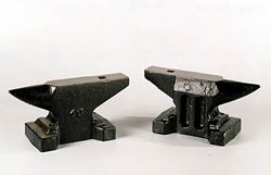 smaller austrian style anvils - From $110. to $575.With six different sizes from 6.5 to 66lb these are great for Jewelers, Gunsmiths or ...