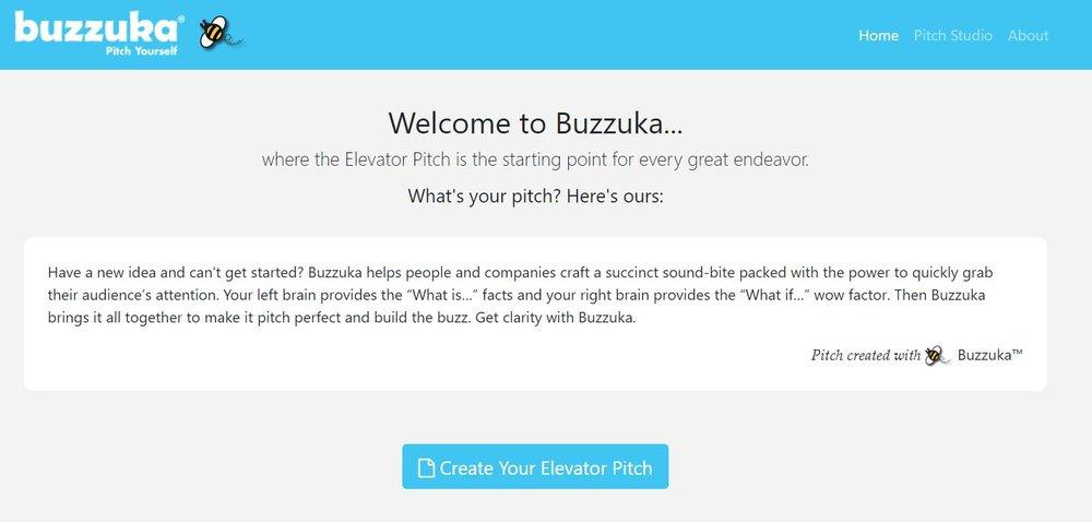 Buzzuka Elevator Pitch Studio