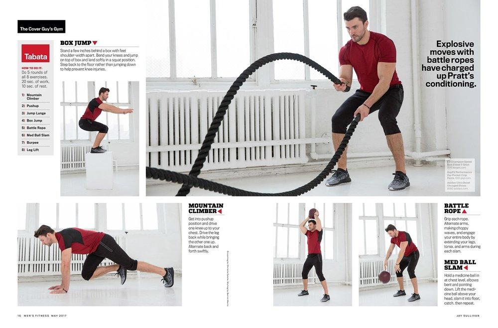 Kamil Nicalek Mens Fitness