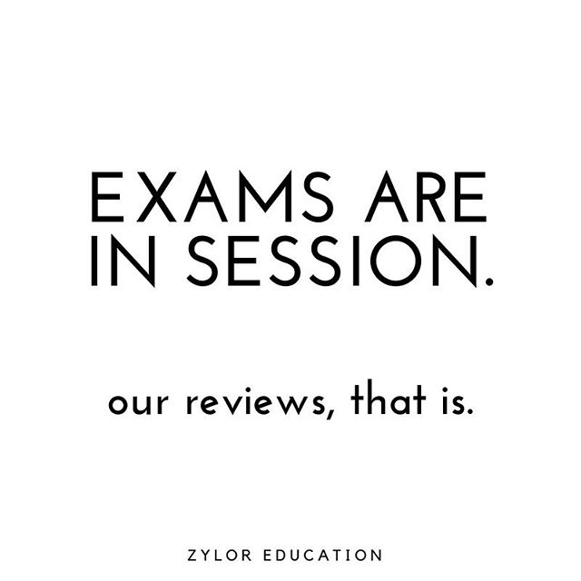 With exams right around the corner, Exam Jams are now in session 📚This weekend we're hosting all our exam reviews - which cover the entire course! 📝