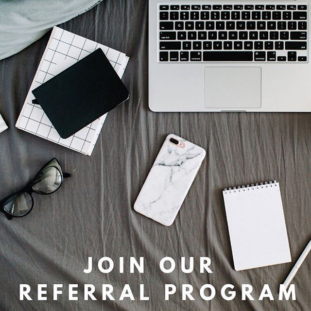 JOIN OUR REFERRAL PROGRAM!  Easy cash & prizes!  Send us a DM for more info!