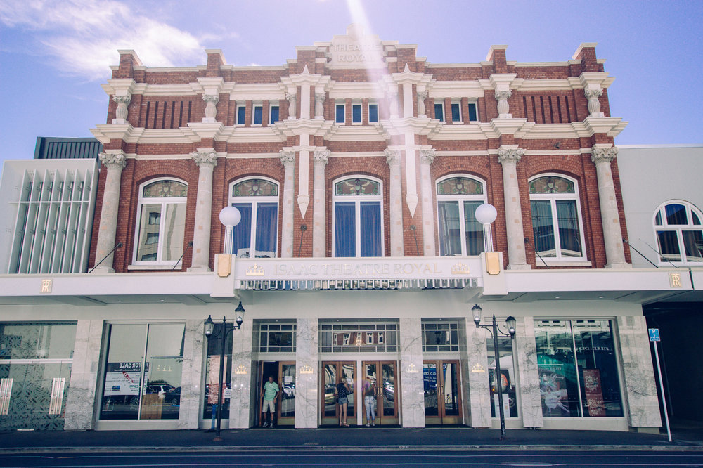 SEWF17 Venue — Isaac Theatre Royal