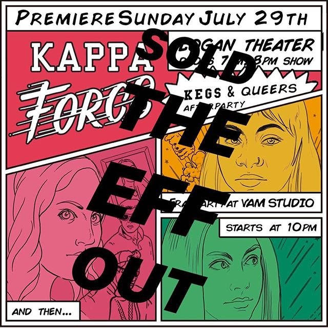 WHAAAAAAAT? You slept on getting tix to the #Chicago Premiere of Kappa Force?? FOR SHAME. It's okay, though. You can party with us at @vamstudioofficial after for just $5!