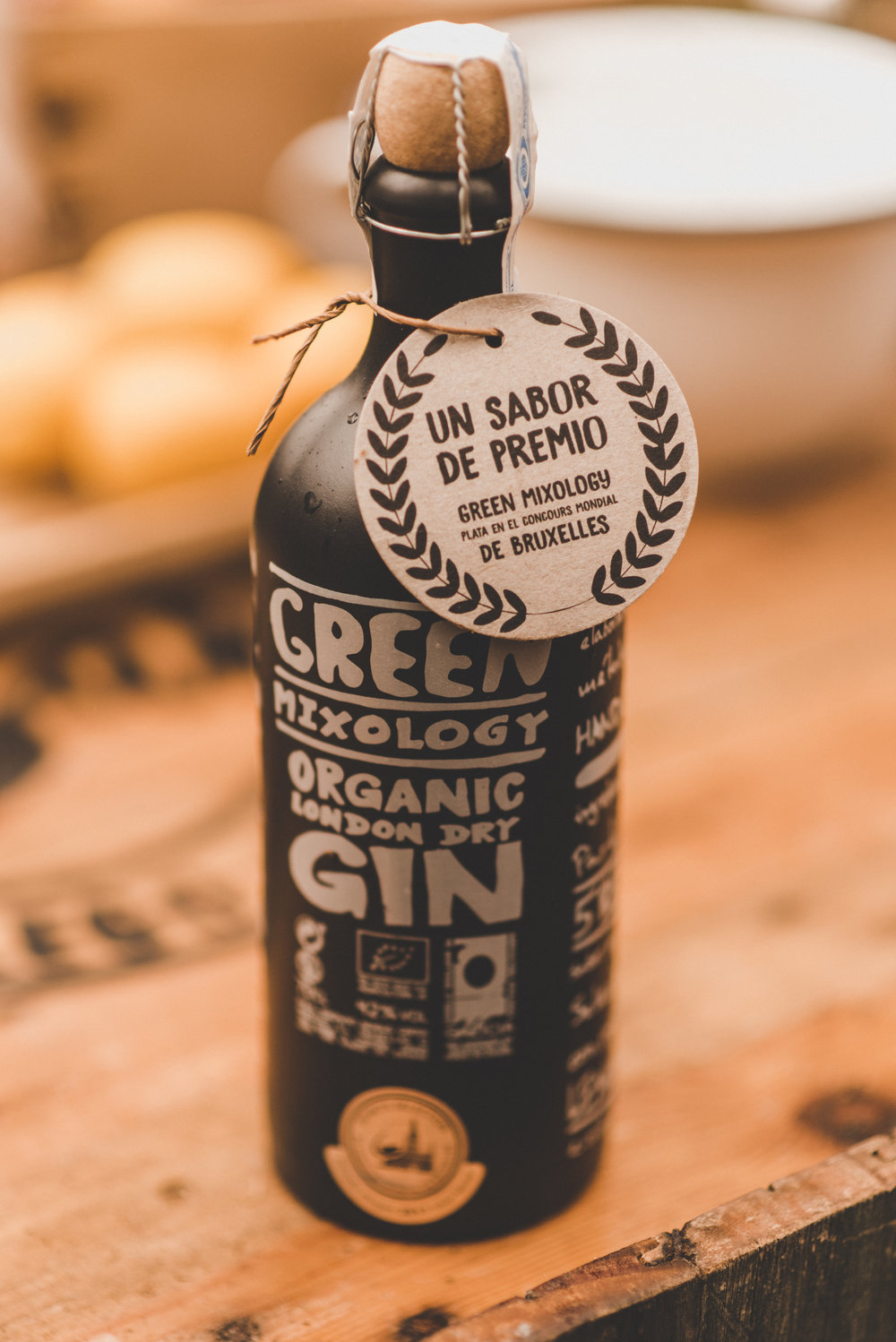 TRUE PREMIUM ORGANIC LONDON DRY GIN -