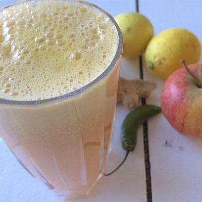Marie Steeberger opskrift på friskpresset juice