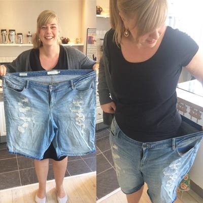 Ann tabte 55 kg