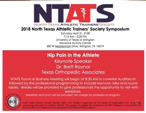 Dr. Raynor is Keynote Speaker at NTATS Annual Symposium — M. Brett ...
