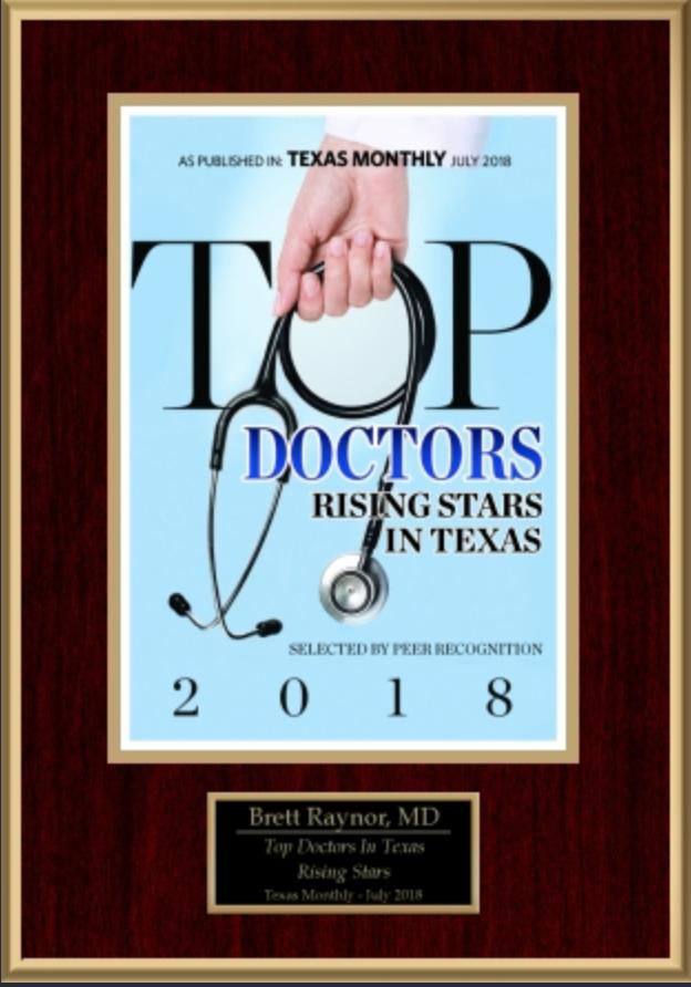 Texas Top Doctor Rising Star 2018