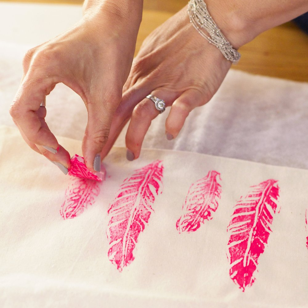 Block Printing Workshop  - June 2017