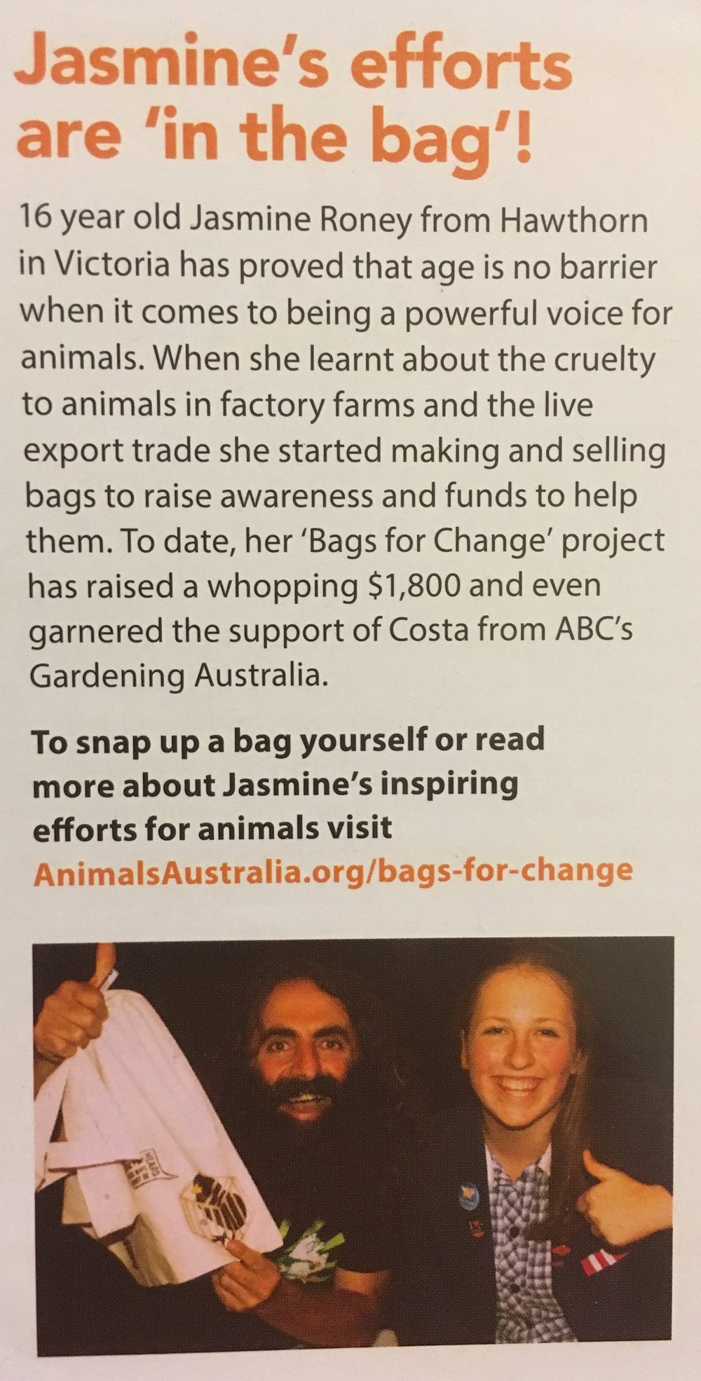 Animals Australia Campaign Update, 2013, page 9