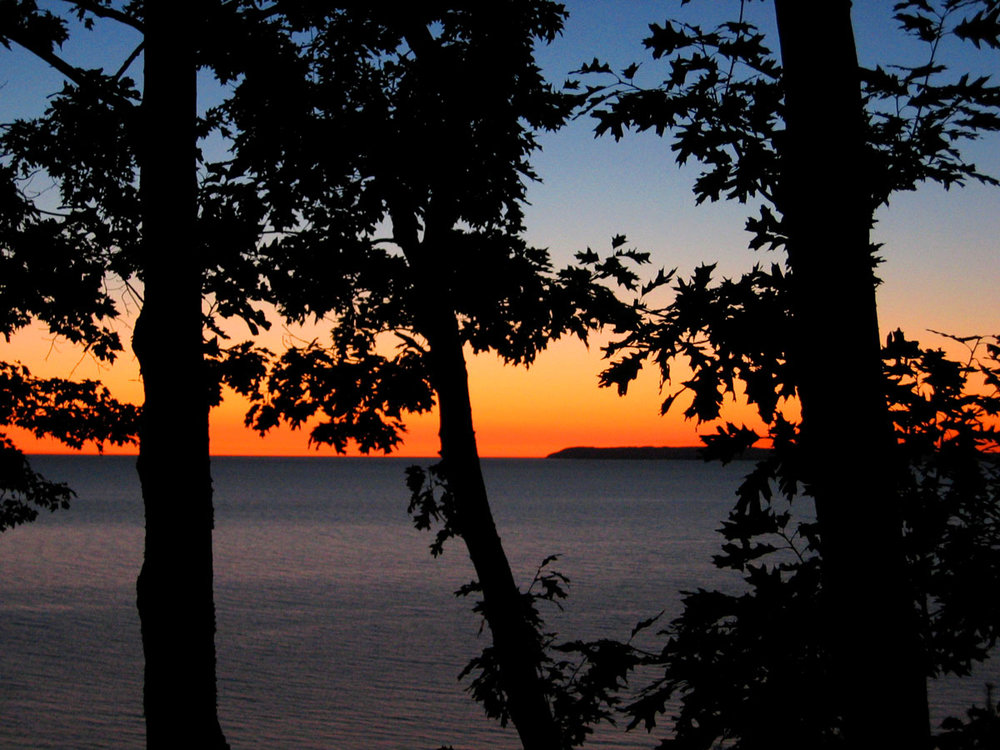 Grand Rapids Lake Michigan Sunset