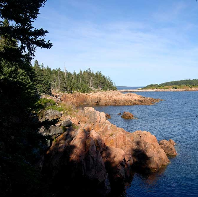 Unknown Found: 3 Days Alone In Hurricane Island, Maine - THE FLAGSHIP: As part of an Outward Bound expedition, I lived on a rock jetty off the coast of Hurricane Island, Maine, for three days alone with minimal provisions—tarp, a bagel, an apple, and trail mix.(30 April 2018)