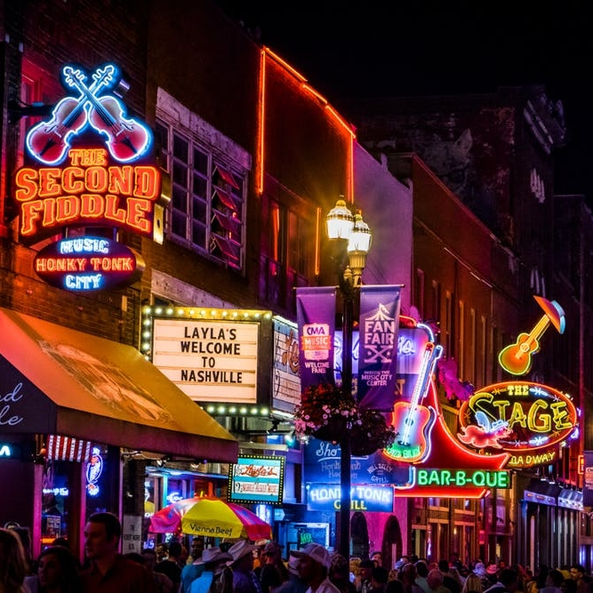 They've Got the Beat: The 10 Best American Cities for Live Music - Brit + Co