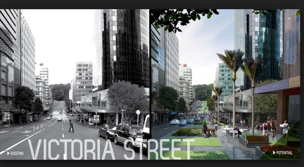 A Green Link from Victoria to Albert Park - a crucial City Centre Masterplan element