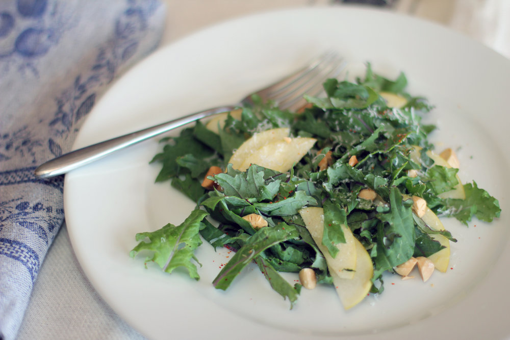 Pear Kale Salad