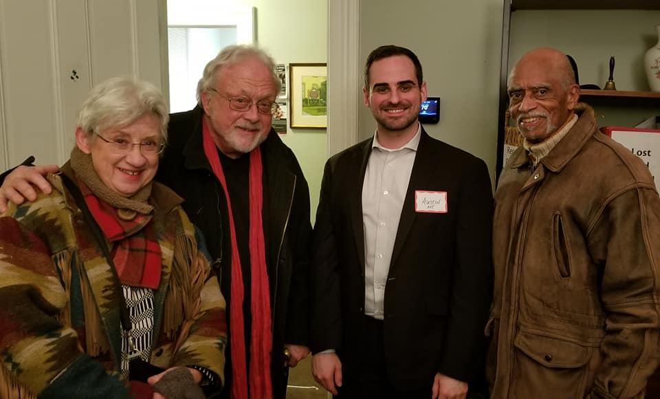 Austin with Joan Morris, Bill Bolcom, and George Shirley