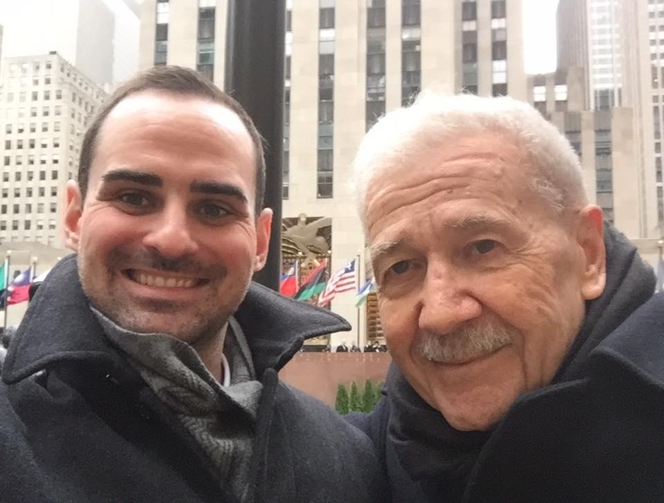 Austin and his mentor, Dr. David DiChiera