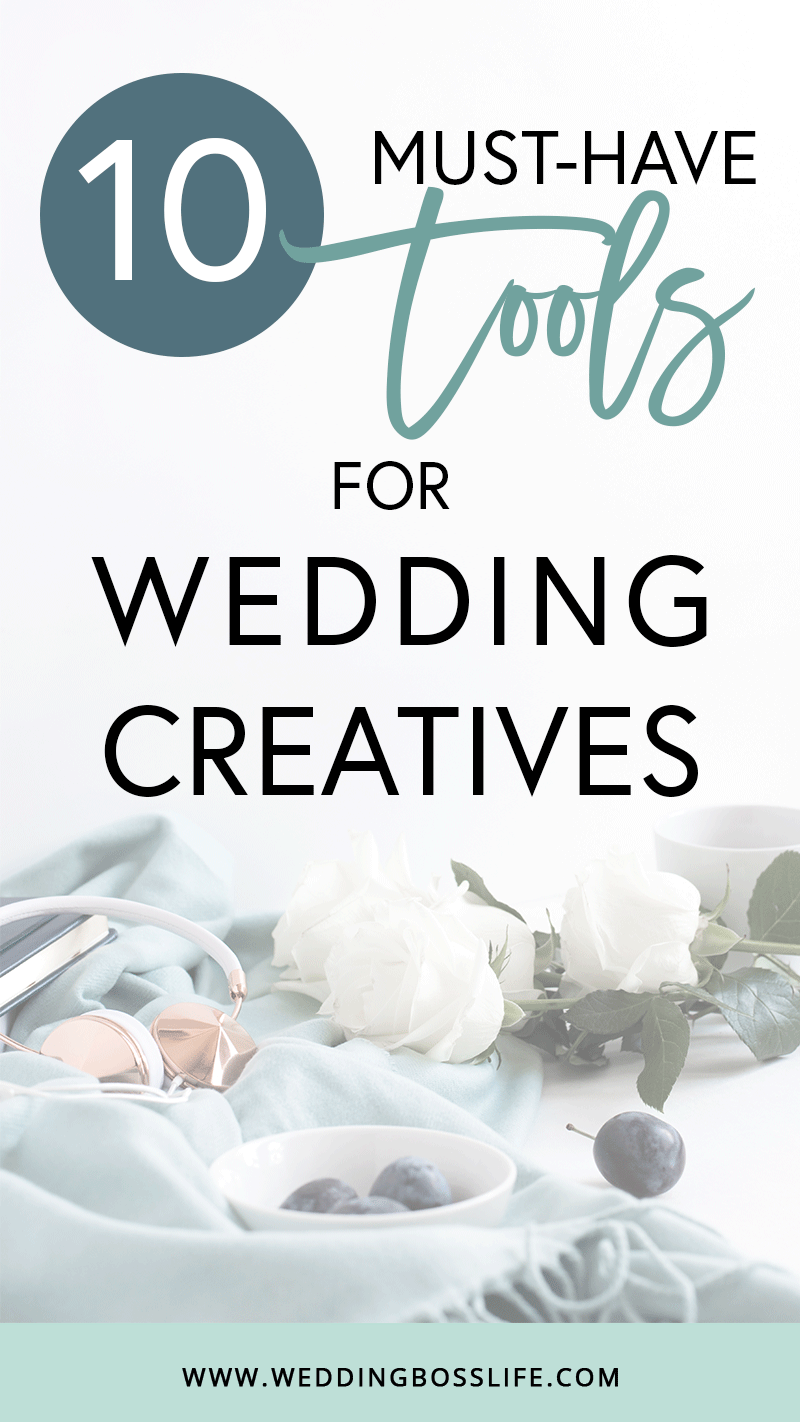 10 Must-Have Tools for Wedding Creatives