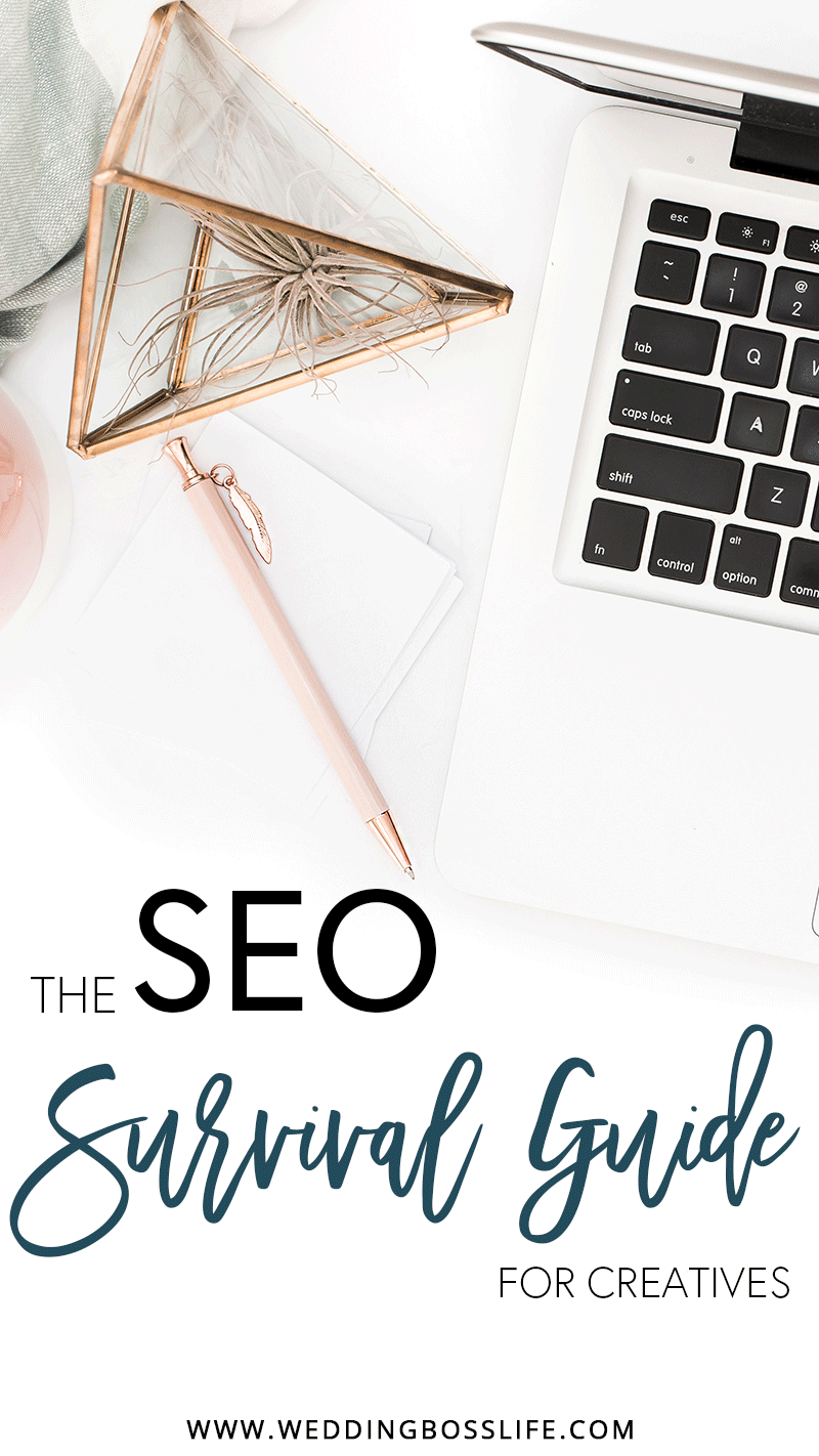 SEO Basics for Wedding Creatives | Wedding Boss Life