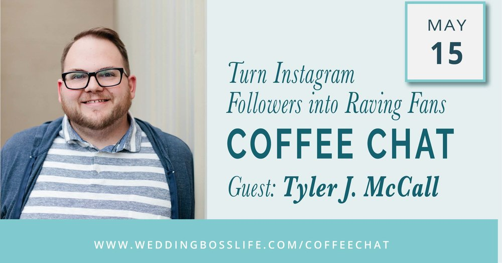 Tyler J. McCall on Wedding Boss Life